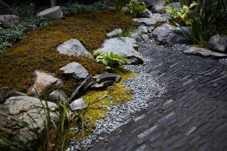 一級建築士事務所 こより Modern style gardens Green
