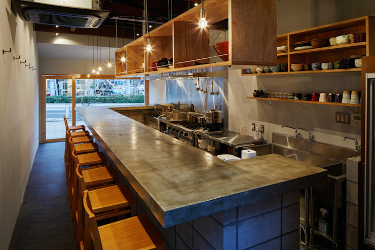 一級建築士事務所 こより 廚房 Multicolored