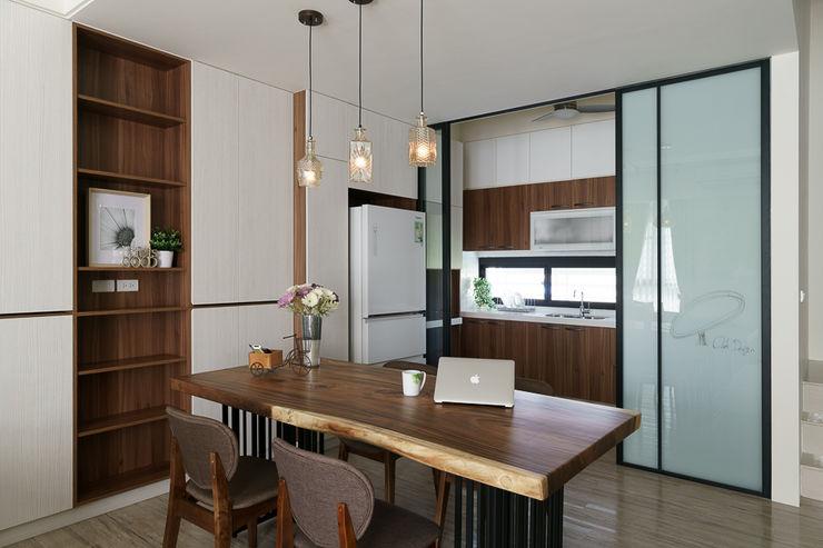 橡樹設計Oak Design Phòng ăn phong cách chiết trung