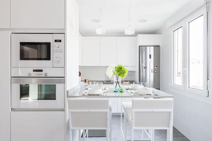 Cocina Basoa Decoración Modern style kitchen