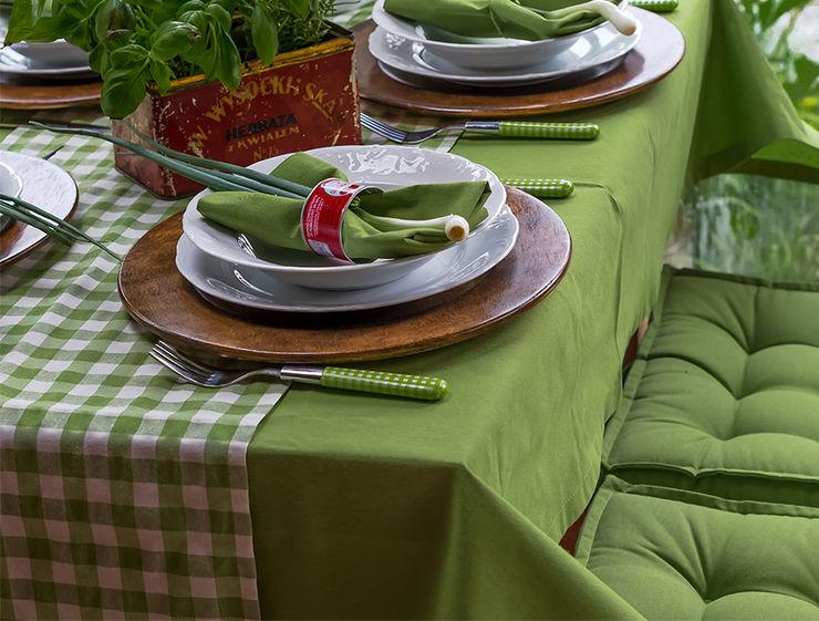 Dekoria GmbH Dining roomAccessories & decoration Textile Green