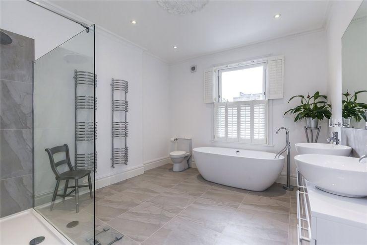 Chesilton Road, Fulham, SW6 APT Renovation Ltd Modern bathroom