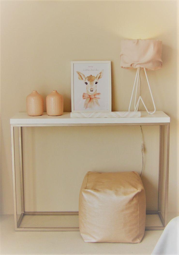 MAMAISON Atelier Interiores Детская комнатаШкафы для одежды и комоды Металл Розовый