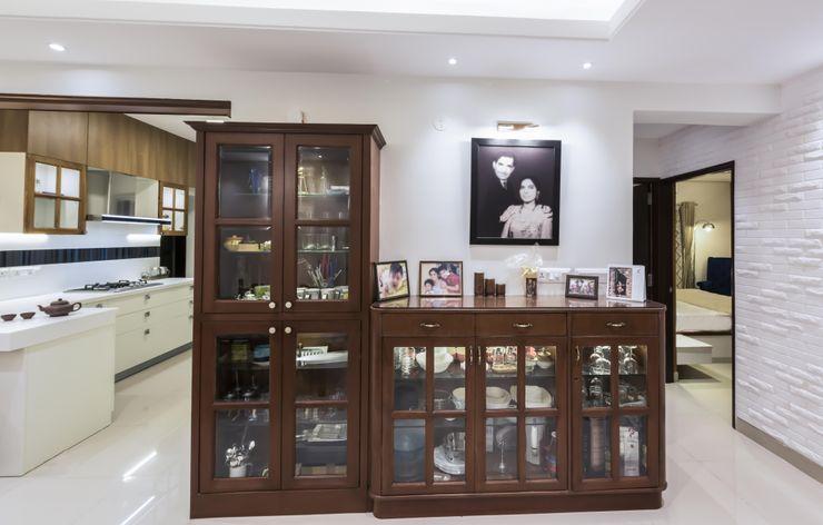Nandita Manwani Modern corridor, hallway & stairs