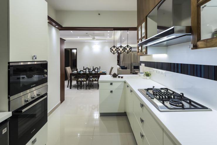 Nandita Manwani Modern style kitchen