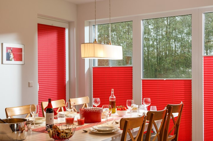 UNLAND International GmbH Windows & doors Blinds & shutters Textile Red