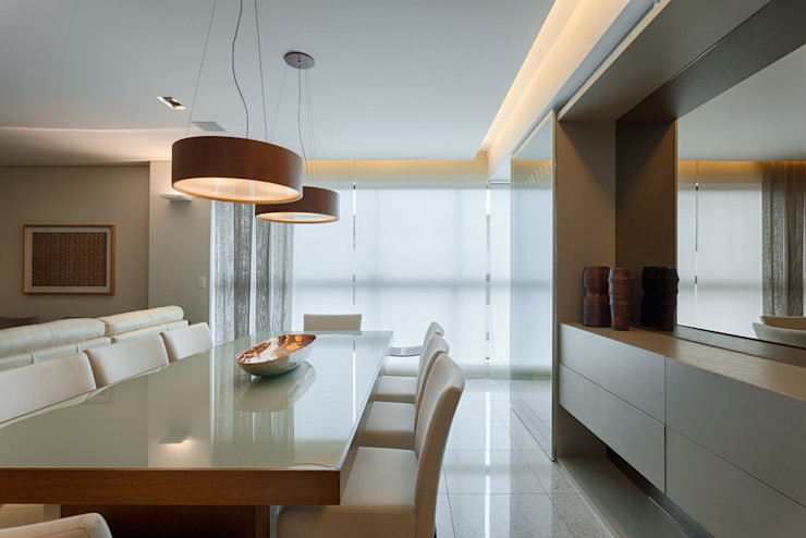 Sala De Jantar Renata Basques Arquitetura e Design de Interiores Salas de jantar modernas
