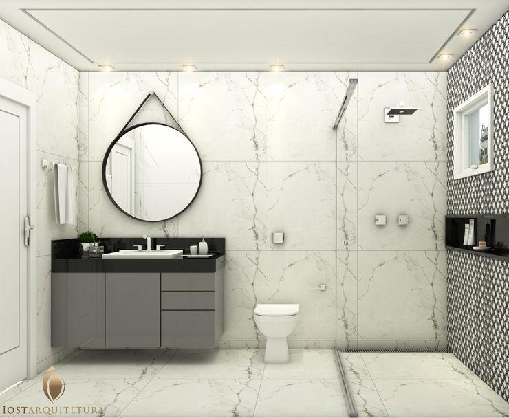 iost Arquitetura e Interiores Baños modernos Granito Negro