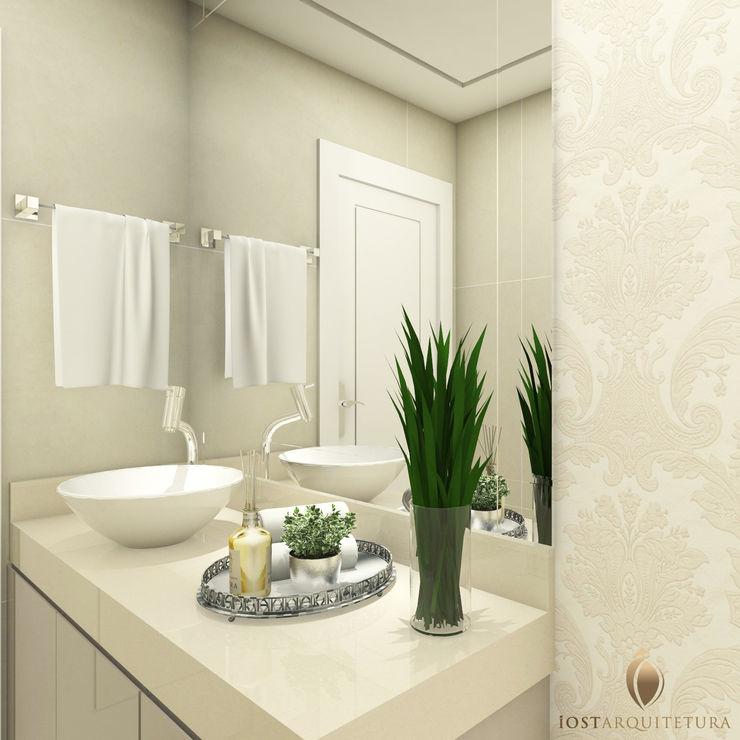 iost Arquitetura e Interiores Baños de estilo moderno Granito Beige