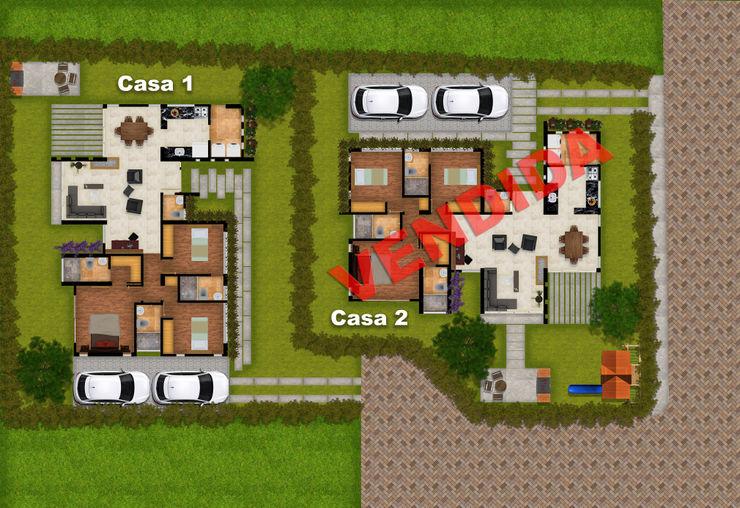 DG ARQUITECTURA COLOMBIA Landhäuser