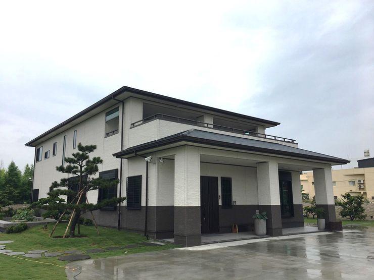 日本節能健康住宅冬暖夏涼 homify Asian style houses