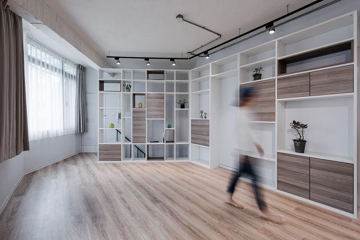 隹設計 ZHUI Design Studio Детские комната в эклектичном стиле
