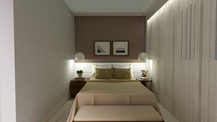 Andréa Galindo Arquitetura e Urbanismo Dormitorios de estilo moderno