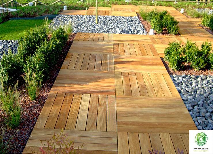 Giardini Pavin Cesare Moderner Garten