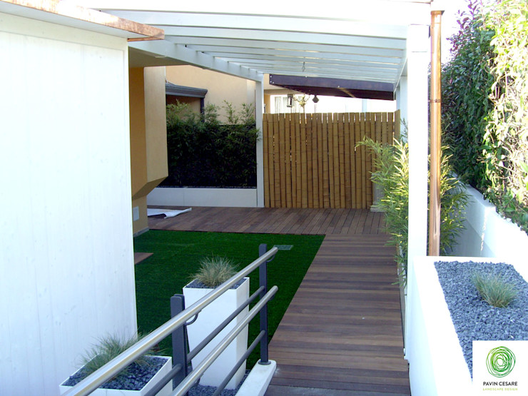 Giardini Pavin Cesare Varandas, marquises e terraços modernos
