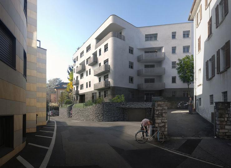 Residenza Green Building arlan.ch atelier d'architettura Case moderne