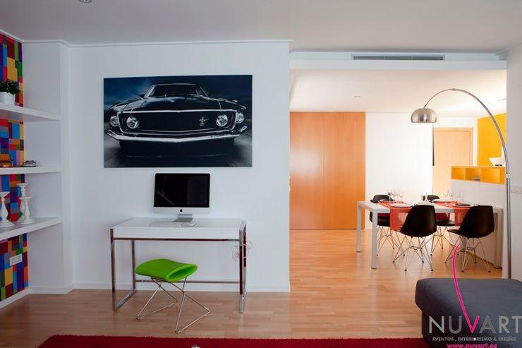 Ático en Castellón NUVART Estudios y despachos de estilo moderno