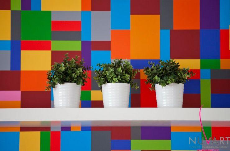 Ático en Castellón NUVART Salones de estilo moderno