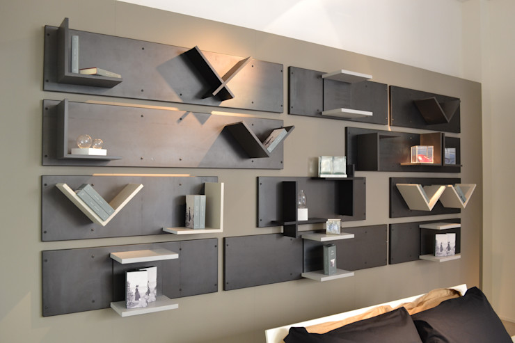Magnetic headboard Ronda Design Industrial style bedroom