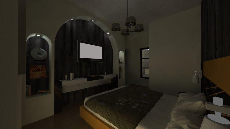 N.A. ARQUITECTURA Спальня