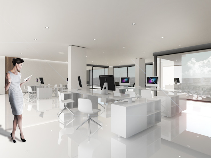 Proa Arquitectura Modern study/office