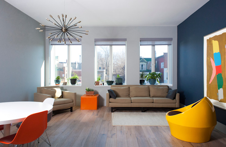 Solares Architecture Modern Living Room