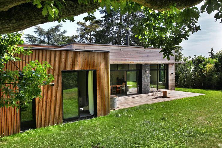 RUSTICASA Casa di legno Legno Effetto legno