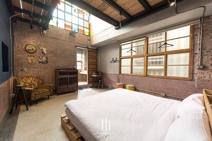 台南民宿/樂宅1960 山巷室內設計 臥室