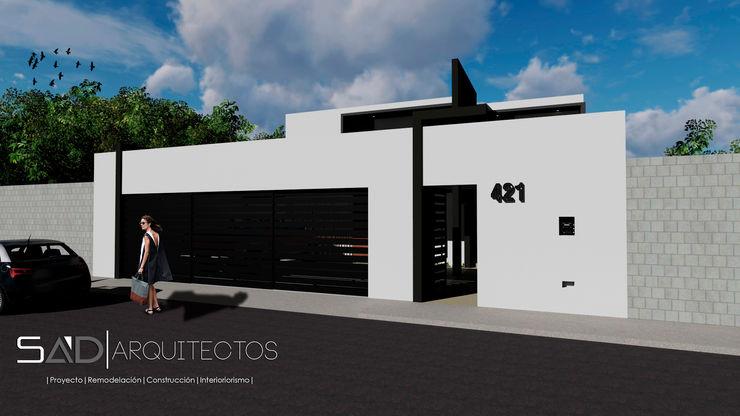 Fachada Principal Exterior homify Casas modernas: Ideas, diseños y decoración