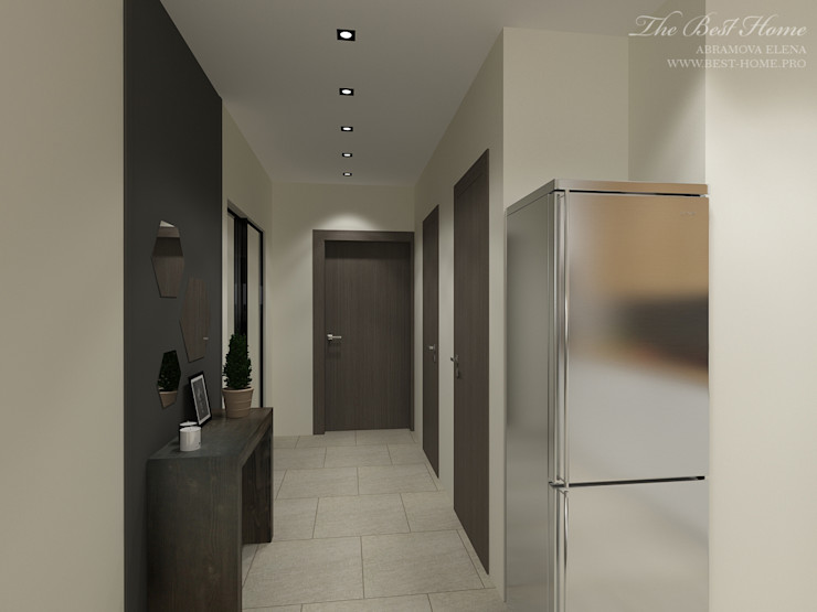 Best Home Koridor & Tangga Gaya Industrial