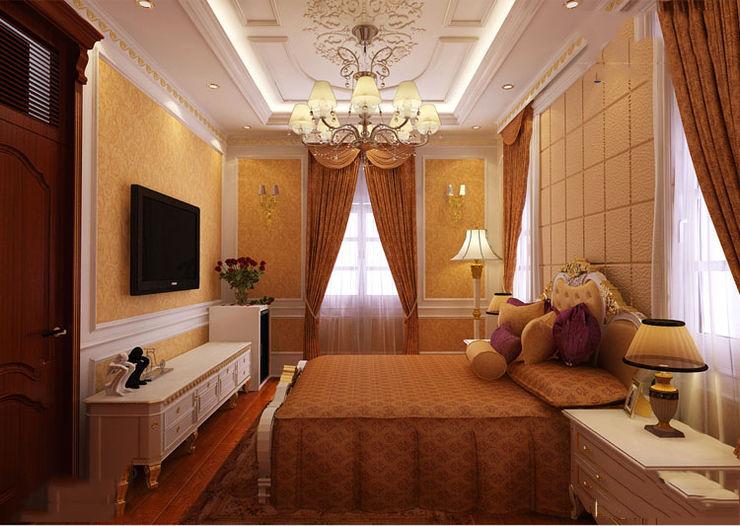 CÔNG TY CP XÂY DỰNG VÀ KIẾN TRÚC ĐẤT VIỆT Classic style bedroom