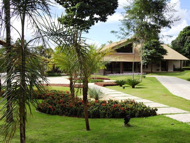 Guilherme Elias Arquiteto Jardines de estilo rural Beige