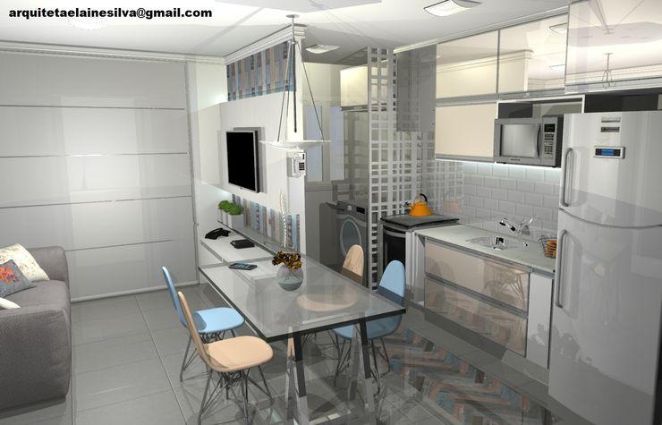 Arquiteta Elaine Silva Cocinas modernas: Ideas, imágenes y decoración