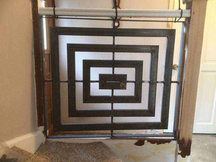 Stair Art ZENTIA Corridor, hallway & stairs Stairs Iron/Steel Metallic/Silver
