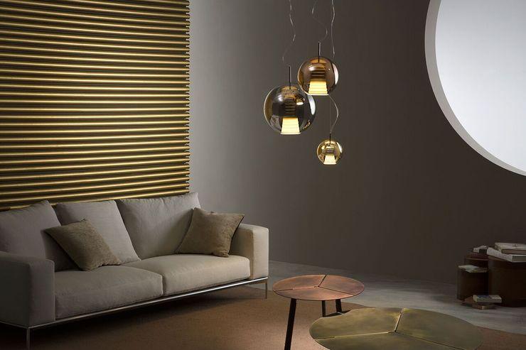 Lampcommerce SalasIluminación Metálico/Plateado