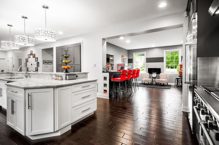 Main Line Kitchen Design 에클레틱 주방