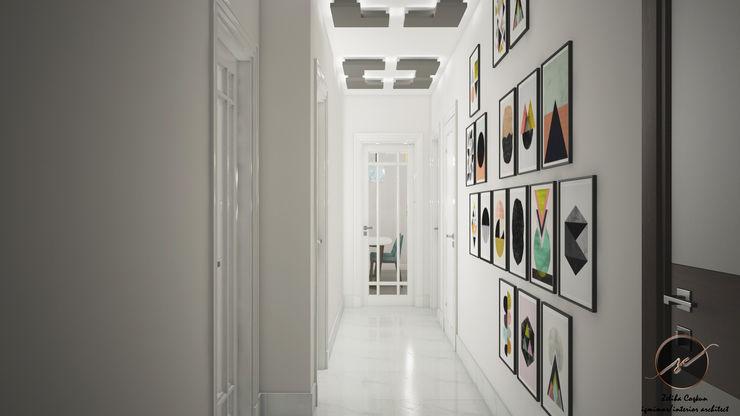 İz Tasarım ve İçmimarlık Modern Corridor, Hallway and Staircase