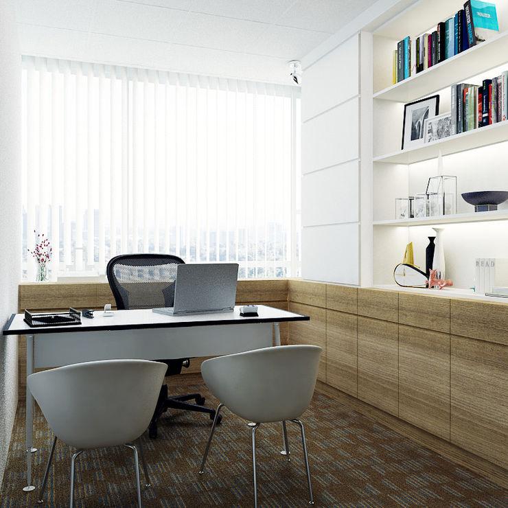 Juxta Interior Negozi & Locali commerciali in stile minimalista