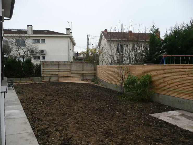 Pendant le chantier Constans Paysage Jardin moderne