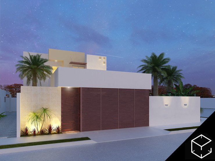 Proyéctica Arquitectos Casas modernas: Ideas, diseños y decoración