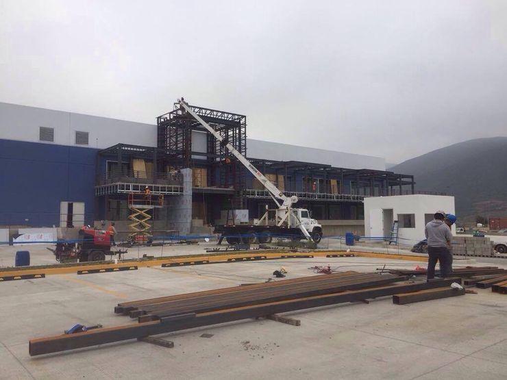 CHDC Arquitectura Balcon, Veranda & Terrasse industriels Fer / Acier