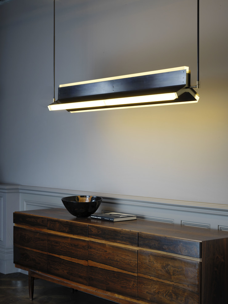 Rayon pendant CTO Lighting Ltd Dining roomLighting Metal Amber/Gold