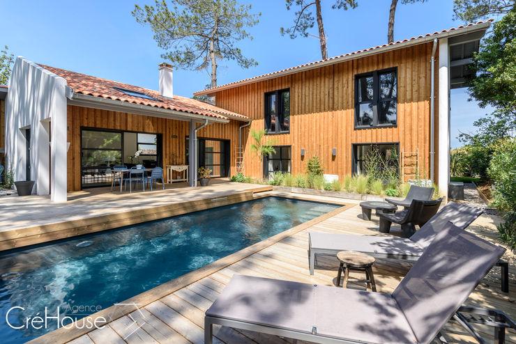 Agence CréHouse Modern Houses