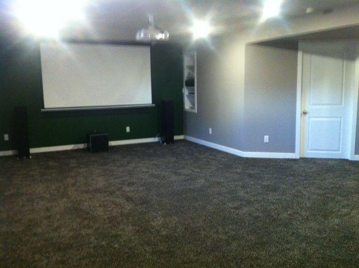 Rec room / media room KGR Renovations