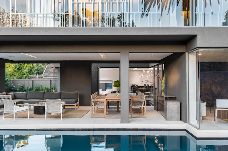 Family Home, Cape Town GSQUARED architects Pool