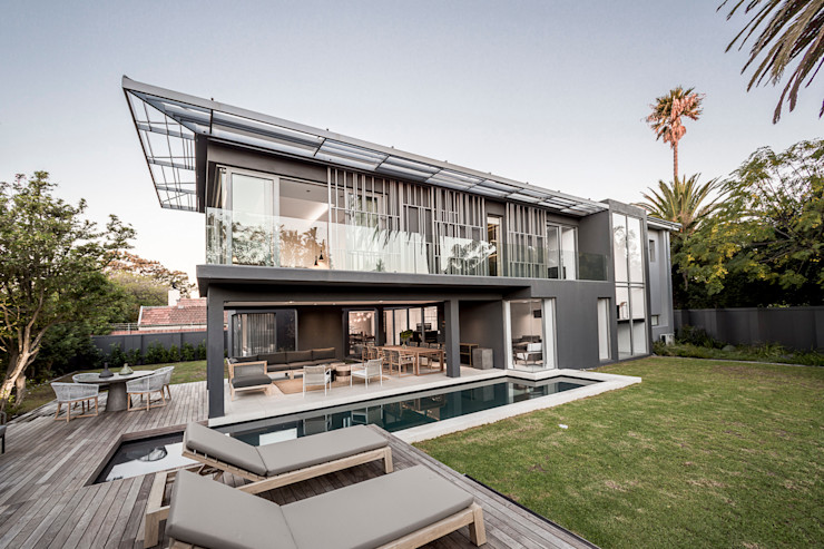Family Home, Cape Town GSQUARED architects Modern houses Marble Grey