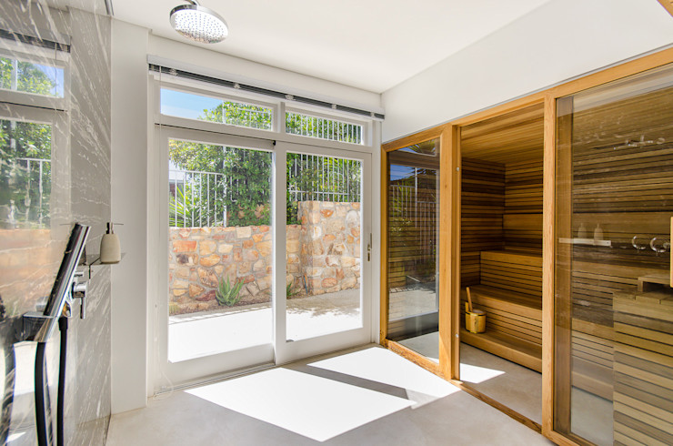 Camps Bay House 1 GSQUARED architects Spa Engineered Wood Wood effect