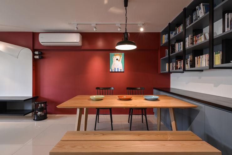 餐廳 存果空間設計有限公司 Eclectic style dining room