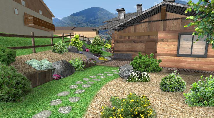 Jardin de montagne Anthemis Bureau d'Etude Paysage Jardin rustique