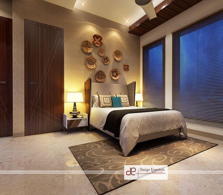 Design Essentials Minimalistische Schlafzimmer Sperrholz Beige